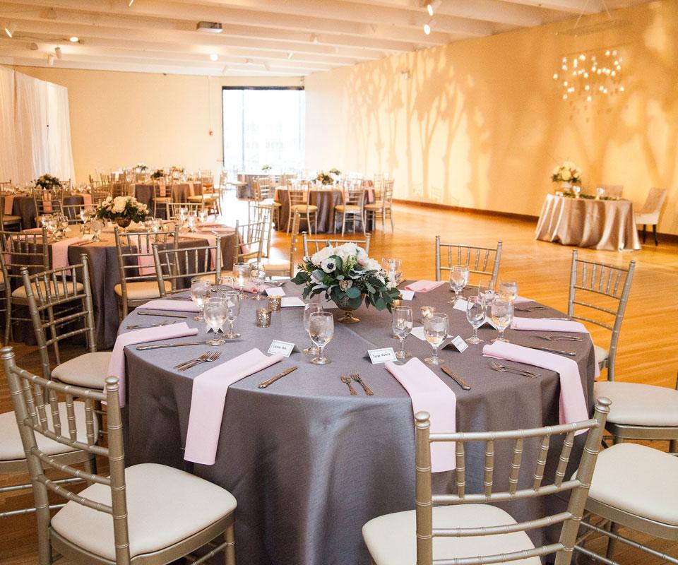 Wedding Tables Six Feet Apart