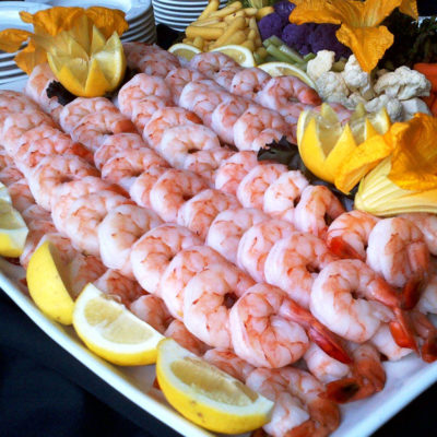 shrimp platter by Mchale's Events & Catering