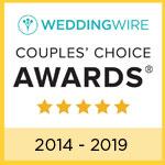 Weddingwire Couples' choice award winner - The Center